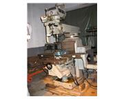 Millport Vertical Knee Mill, Model: 3KVH#C, 1985  SN: 5512