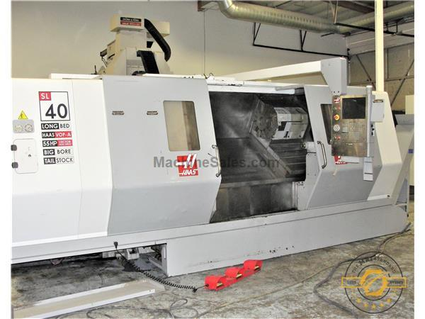 "HAAS, SL-40LB, 40"" SWING, CNC LATHE, NEW: 2007"