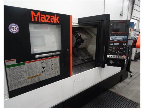 MAZAK, QUICK TURN SMART 350M, MAZAK MAZTROL SMART CNC CNTRL, NEW: 2015