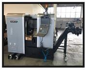 "USED HURCO SLANT BED CNC LATHE TM6i, 2013, 7"" x 14"" travels, 15.8"" B.C."