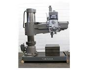 "4' Arm Lth 11"" Col Dia Tominga YMZ RH-1225 RADIAL DRILL, Power Elevation  Clamping, #"
