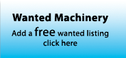 Place a Free Wanted Machinery listing
