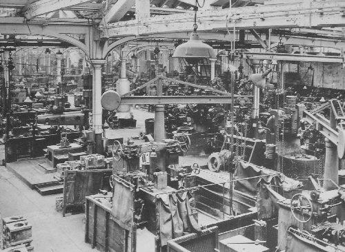 post industrial era machines