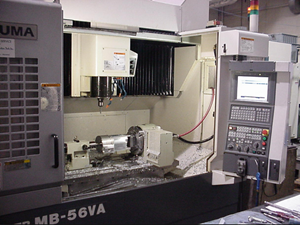 Inside a CNC Machining Center