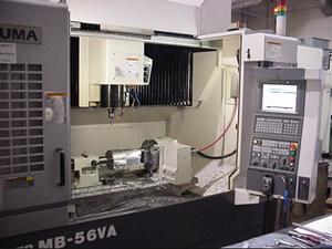 Inside a CNC Machining Center