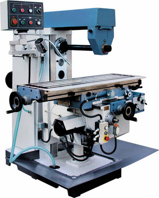 Horizontal CNC Milling Machinery