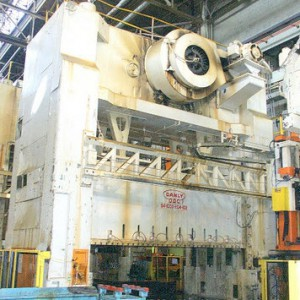 Used thousand ton stamping press