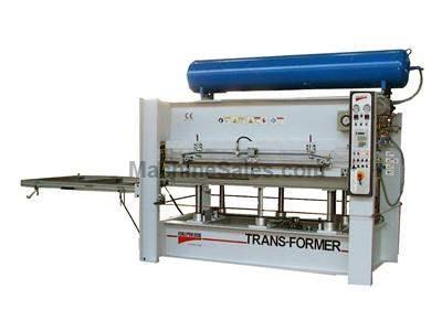 "Italpresse ""Trans-Former"" Convertible Hot Press for Lamination"