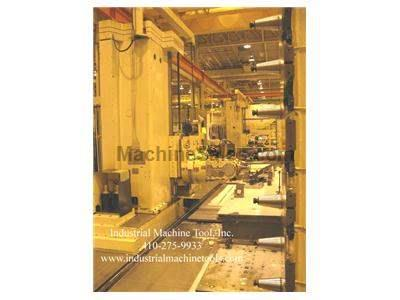 Giddings & Lewis CNC 5-Axis Floor Type Horizontal Boring Mill