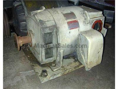 40 HP GENERAL ELECTRIC KINEMATIC D.C. MOTOR MODEL SCD1938A042800