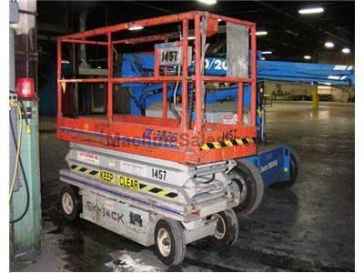 SKY JACK MODEL SJLL 3220 D.C. ELECTRIC SCISSOR TYPE LIFT