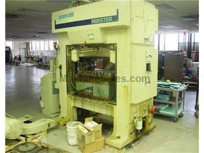 "60 TON MINSTER ""PULSAR 60"" ULTRA HIGH SPEED PRESS MODEL TR2-60"