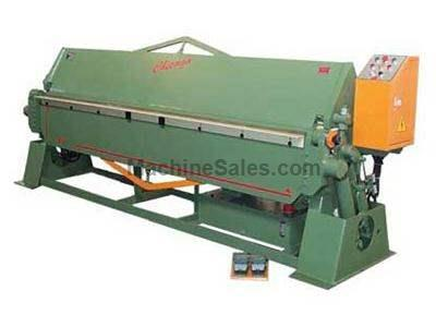 HYDRAULIC POWERED METAL FOLDING MACHINES