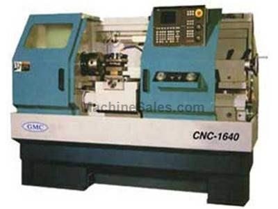 GMC 1640 & 1660 CNC Lathes