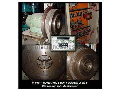 "1-1/4"" TORRINGTON #323SS 3-Die Stationary Spindle Swager"