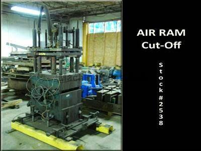 16 Ton AIR RAM #ATP-124 Pneumatic Press