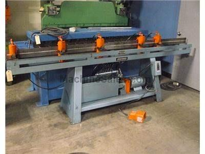 Lockformer TDC Hydraulic Duct Notcher   18 Ga. Capacity