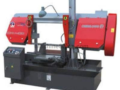 CH - 400 Dual Column Semi Automatic Band Saw