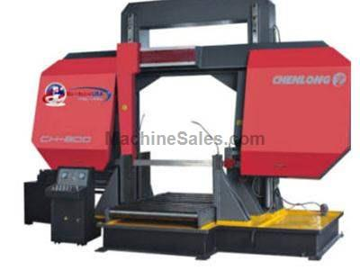 CH - 800 Dual Column Semi Automatic Band Saw