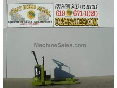 5000LB Ride On Electric Pallet Jack, 24 Volt, Includes Commercial Charger, Excellent Condition