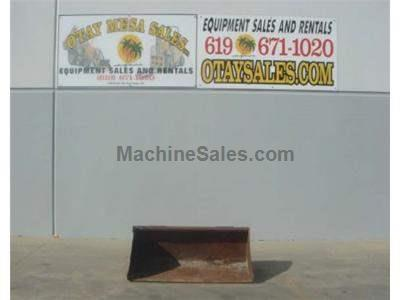 60 Inch Smooth Bucket for Skid Steers