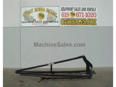 12 Foot Truss Boom for Telehandler Reach Trucks, Universal Mounting 1400 LB Capacity