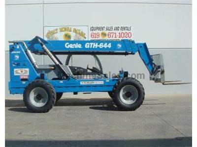 6000LB Forklift, Telehandler, 44 Foot Reach, John Deere Turbo Diesel, 4WD, 4 Way Steer
