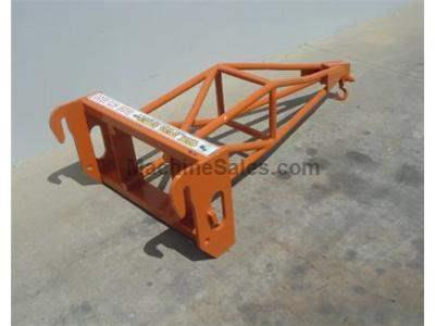 Truss Boom Attachment for Forklifts, 6 Foot Fix Length