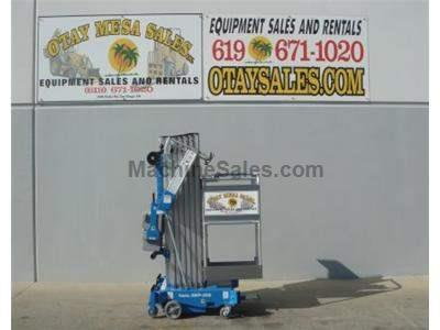 Single Man Lift, 36 Foot Working Height, Self Propelled, 350lb Capacity