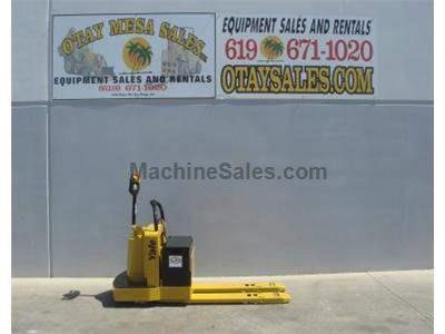 6000LB Ride On Electric Pallet Jack, 24 Volt, Includes Commercial Charger, Excellent Condition