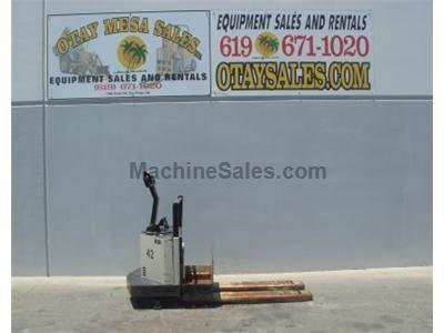 6000LB Ride On Electric Pallet Jack, 24 Volt, Includes Charger, Warrantied Battery