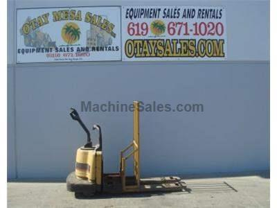 6000LB Ride On Electric Pallet Jack, Warrantied Battery, Includes Charger