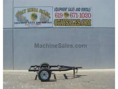 Flatbed Trailer, Single Axle