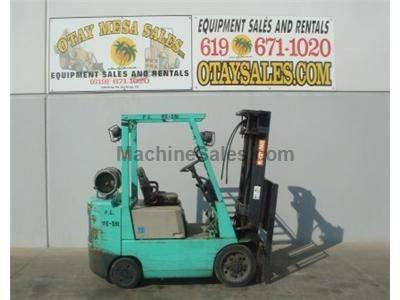 5000LB Forklift, Side Shift, Cushion Tires, Propane, Automatic