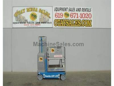Single Man Lift, 26 foot Working Height, Self Propelled, 350lb Capacity, Compact Design 2.5 feet Wide