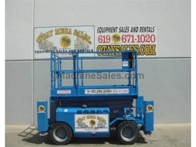 40 Foot Working Height, 4x4, All Terrain, Dual Fuel, 68 Inches Wide, Deck Extension