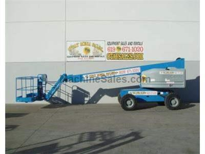 Boomlift, 51 Foot Working Height, 45 Foot Basket Height, 4WD, JIB, Power To Platform