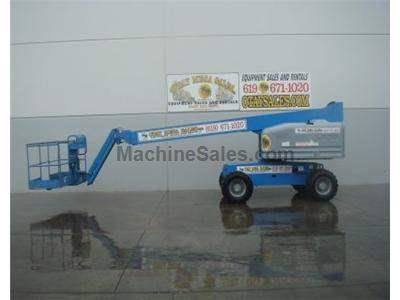 Boomlift, 51 Foot Working Height, 45 Foot Basket Height, JIB, Diesel, 4x4, GenSet