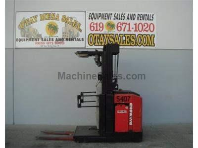 3000LB Order Picker, 204 Inch Lift Height, 24v, Includes Charger, Warrantied Battery
