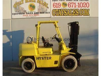 8000LB Forklift, 3 Stage, Side Shift, Pneumatic Tires, Propane, Automatic Monotrol Transmission