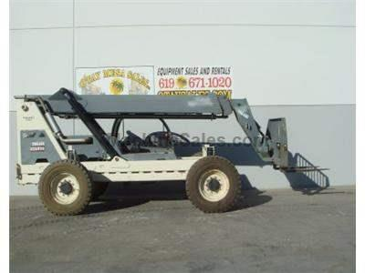 6000LB Telehandler Reach Truck, 44 Foot Reach Height, Body Tilt, 4 Wheel Drive