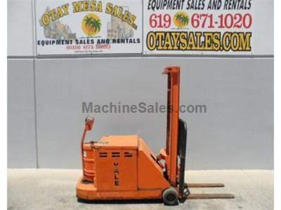 3000LB Electric Stacker, 154 Inch Lift, Warrantied Battery, Includes Charger