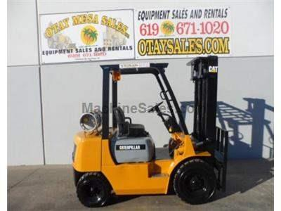 5000LB Forklift, Pneumatic Tire, Side Shift, Propane, Automatic