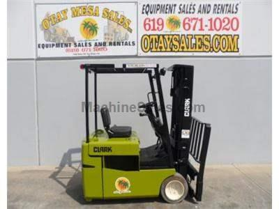 3000LB Forklift, 36 Volt Electric, 3 Stage 188 Inch Lift, Side Shift, Warrantied Battery