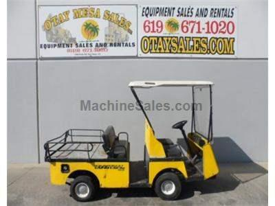 Utility Cart, Flatbed, 4 Seater, Automatic Transmission, Gasoline, Fold Down Rear Seat