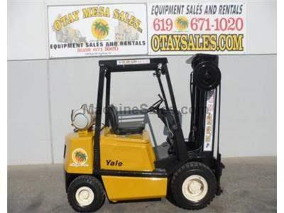 5000LB Forklift, Pneumatic Tires, 3 Stage, Propane Power, Automatic Transmission