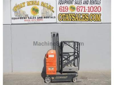 Single Man Lift, 26 Foot Working Height, Electric, Self Driven, Deck Extension