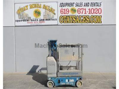 Single Man Lift, 15 Foot Platform, 21 Foot Working Height, Self Propelled, Power to Platform