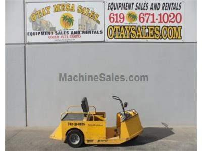 Parts Chaser Electric Cart, Single Man, 24 Volt, On Board Charger