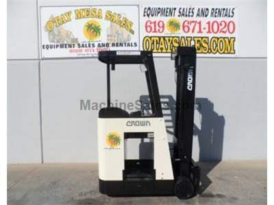 3000LB Stand Up Electric Forklift, Counter Balanced, 3 Stage, Side Shift, 36 Volt